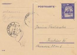GG Formular: Ganzsache Verwendet Am 22.5.45 - Polen - Nach Krakau - Pologne
