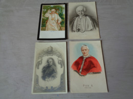 Beau Lot De 20 Cartes Postales De Papes  Pape     Mooi Lot Van 20 Postkaarten Van Pausen  Paus  - 20 Scans - Cartes Postales