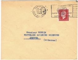 699 DULAC SEUL SUR LETTRE O.MEC F-SECAP JOURNEES NATIONS-UNIES - Postmark Collection (Covers)