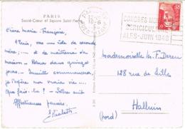 O.MEC FRANKERS SECAP PARIS CONGRES MONDIAL SEDICULTURE ALES SUR CPSM - Annullamenti Meccanici (pubblicitari)