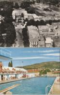 DRAGUIGNAN - 2 CPSM : Vue Aérienne Sur Le Bd Clémenceau Et La Préfecture - La Piscine Municipale - Draguignan