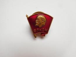 Insigne à Vis ( No Pin's ) , Lénine , Vladimir Ilitch Lénine - Personnes Célèbres