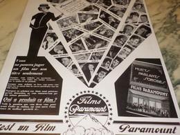 ANCIENNE PUBLICITE C EST UN  FILM PARAMOUNT  1929 - Werbetrailer