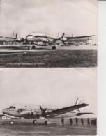 PORT AERIEN BORDEAUX-MERIGNAC -CHAMBRE DE COMMERCE DE BORDEAUX - 2 CARTES  - - 1946-....: Modern Era
