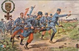 Rare Cpa Magnifique Illustration La Croix De Guerre Comment On La Gagne - 1914-18