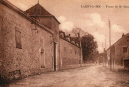 LAGNY LE SEC ( 60 ) - Ferme De Mr DAUDIE - Francia