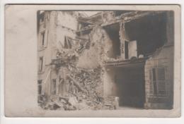 ° 54 ° NANCY ° GRANDE RUE - BOMBARDEMENT 4 JANVIER 1916 PAR LE GROS MAX ° CARTE PHOTO ° - Nancy