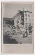 ° 54 ° NANCY ° Hôtel Saint Georges, Place St Geouges - BOMBARDEMENT 1 JANVIER 1916 PAR LE GROS MAX ° CARTE PHOTO ° - Nancy