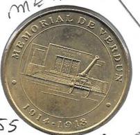 Jeton Touristique 55 Verdun Mémorial 1999 - Monnaie De Paris