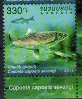 ARMENIA, 2018, MNH, FISH,1v - Fishes