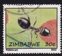 Zimbabwe 2012, Insect, Ant, Vfu - Zimbabwe (1980-...)