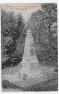 (RECTO / VERSO) VILLERSEXEL EN 1911 - MONUMENT AUX MORTS  - TIMBRE TAXE - BEAU CACHET - CPA  VOYAGEE - 70 - 1859-1955 Lettres & Documents
