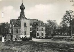 Ganshoren : Le Chateau De Rivieren  : Format 14.5 X 10.5 Cm  (1963  CPA Carnet  -  Carnet Kaart  See Scan ) - Ganshoren
