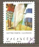 FRANCE 2019 Y T N ° 5??? Oblitéré CACHET ROND  Vacances - France