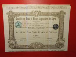 SOCIETE DES ZINCS ET PLOMBS ARGENTIFERES DE STYRIE 1903 - Mines