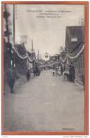 Carte Postale 59. Poix-du-Nord Inauguration  Croisette Rue De La Gare **RARE**    Trés Beau Plan - Autres Communes
