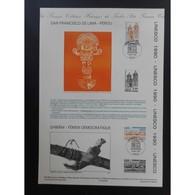 Document Officiel La Poste - UNESCO. San Francisco De Lima Au Pérou - Documents Of Postal Services