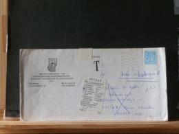 A10/625  LETTRE POUR NEDERLAND   RETOUR HUIS AFGEBRAND - Storia Postale