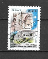Année 2019 Timbre  Abbatiale  Saint Philibert-de-Grand Lieu - Used Stamps