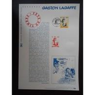Document Officiel La Poste - Gaston Lagaffe - Documents De La Poste