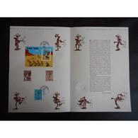 Document Officiel La Poste - Fête Du Timbre 2003 - Lucky Luke - Documents De La Poste