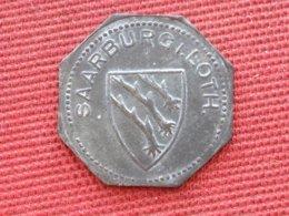 FRANCE Jeton De 50 Pfennig De Sarrebourg Superbe état - Monetary / Of Necessity