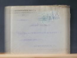 A10/627 LETTRE  POUR BERLIN  CENSURE MALAGA - 1931-50 Storia Postale