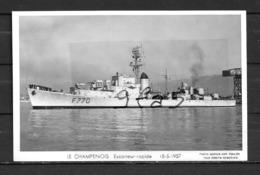 Escorteur Rapide LE CHAMPENOIS - Carte Non écrite - Warships