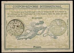 FRANCE Filigrane à Cheval Displaced WatermarkRo4 Int. Reply Coupon Reponse IAS IRC Antwortschein O LA BRESSE VOSGES - Cupón-respuesta
