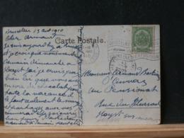 A10/647 CP  OBL. BRUXELLES EXP. 1910 - 1915-1920 Alberto I