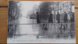 CPA PARIS - Inondations De 1910