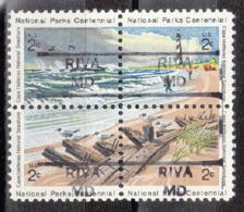 USA Precancel Vorausentwertung Preo, Locals Maryland, Riva 852, Hatteras Block - Vereinigte Staaten