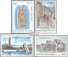 Belgien 2062-2065 (kompl.Ausg.) Postfrisch 1981 Tourismus - Belgien