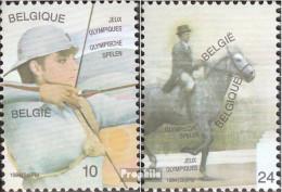 Belgien 2173-2174 (kompl.Ausg.) Postfrisch 1984 Los Angeles - Belgien