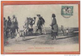 Carte Postale Djibouti  Déplacement D'un Ménage Somalis Trés Beau Plan - Gibuti