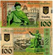 Ukraine - 100 Hryven 2019 UNC Vladimir Monomakh Polymer Lemberg-Zp - Ucrania
