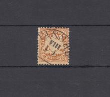 Bayern 41 Wappen 25 Pfennig - Stempel 13 Halbkreisstempel PASSAU VIII - 1.1. - Bayern