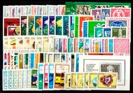 1907-2011 DDR-Jahrgang 1974 Komplett, Postfrisch ** / MNH - DDR