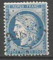 FRANCE - Oblitération Petits Chiffres LP 2298 NOUVION-EN-PONTHIEU (Somme) - Marcophilie (Timbres Détachés)
