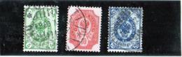 B - 1901 Finlandia - Stemmi - 1856-1917 Russian Government