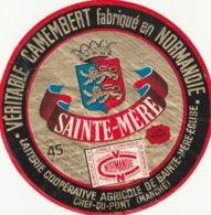Rare étiquette De Fromage  Camembert Sainte-Mère - Fromage