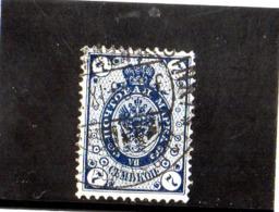 B - 1891 Finlandia - Stemma - 1856-1917 Russian Government