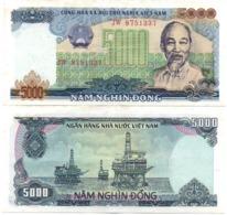 Vietnam Viet Nam - 5000 Dong 1987 XF- Lemberg-Zp - Vietnam