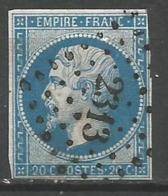 FRANCE - Oblitération Petits Chiffres LP 2313  OBERNAI (Bas-Rhin) - Marcophilie (Timbres Détachés)
