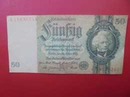 3eme REICH :50 MARK 1933 CIRCULER (B.4) - [ 4] 1933-1945 : Third Reich