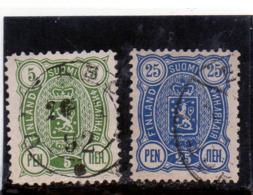 B - 1889 Finlandia - Stemma - 1856-1917 Russian Government