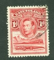 Basutoland: 1938   KGVI   SG19    1d    Used - Basutoland (1933-1966)