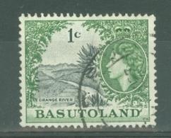 Basutoland: 1961/63   QE II - Pictorial - Decimal Currency   SG70   1c   Used - 1933-1964 Colonia Britannica