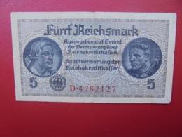 3eme Reich 5 MARK 1942 CIRCULER (B.4) - [ 4] 1933-1945 : Third Reich