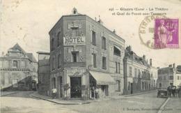 GISORS - Le Théâtre Et Quai Du Fossé Aux Tanneurs. - Gisors